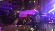 Ordu'da minibüsle otomobil çarpıştı: 1 yaralı