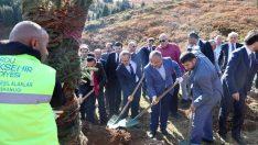 Şehit Ahmet Topçu'nun ismi hatıra ormanında yaşatılacak