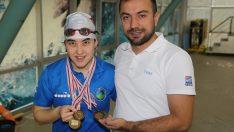 Ordulu paralimpik yüzücünün hayali Tokyo olimpiyatları