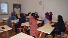 ORMEK'ten Hasta ve Yaşlı Bakım Eğitimi Veriliyor