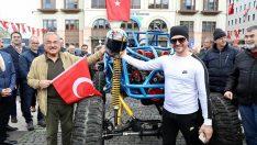 Ordu'da OFF-ROAD Yarışlarının Seromonik Startı Verildi