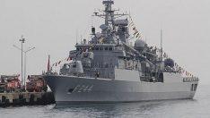 TCG Yavuz Gemisi Ordu'ya Geliyor