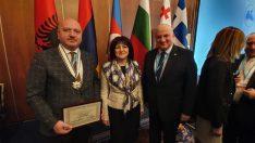 Ordu Milletvekili Metin Gündoğdu'ya Onur Madalyası