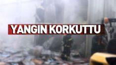 Ordu'da bir fabrikada çıkan yangında 15 kişi dumandan etkilendi