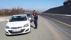 Ordu'da 54 sürücüye hız sınırını aşmaktan ceza verildi