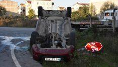 Ordu'da kamyonet ile hafif ticari araç çapıştı: 5 yaralı