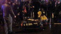 Ordu'da minibüsün çarptığı çift yaralandı