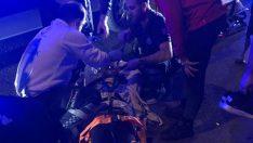 Ordu'da motosiklet ile bisikletli çarpıştı: 2 yaralı