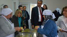 Perşembe'de kadınlar için taflan tesisi kuruldu