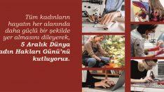 Başkan Güler, Türk Kadını Sevginin, Şefkatin ve Özverinin Simgesidir