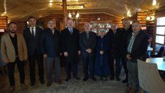 Gündoğdu'dan Gürgentepe'ye Kapalı Halı Saha Sözü Verdi