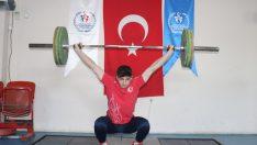 Ordulu Halterci Yusuf Fehmi'nin Hedefi Olimpiyatlar