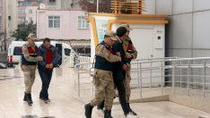 Orrdu'da Kablo hırsızları tarım aracıyla kaçarken yakalandı
