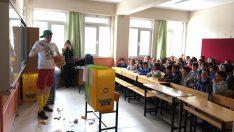 Ordu Büyükşehir Çevreci Dorukla Öğrencileri Buluşturuyor