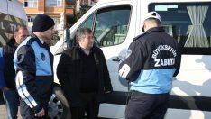 Ordu Büyükşehir Zabıtadan Toplu Taşıma Araçlarına Denetim