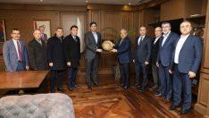 Bem-Bir-Sen Genel Başkanı Uslu'dan, Büyükşehir Belediye Başkanı Güler'e ziyaret