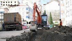 Altınordu'da Yağmur Suyu Hatları Yenileniyor