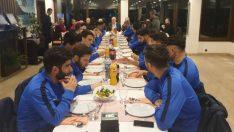 52 Futbol Kulübü Yemekte Buluştu
