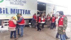 Ordu Büyükşehir Mobil Mutfak TIR'ı Depremzedelerin İçini Isıtıyor
