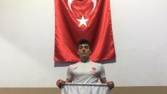Ordu Büyükşehir Sporcusu Efe, Türkiye 3.sü oldu.