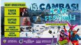 Ordu Çambaşı Kar Festivalinin 15'incisi Düzenleniyor