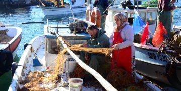 Ordu'da Balıkçı Kadın Reislere Marina Jesti