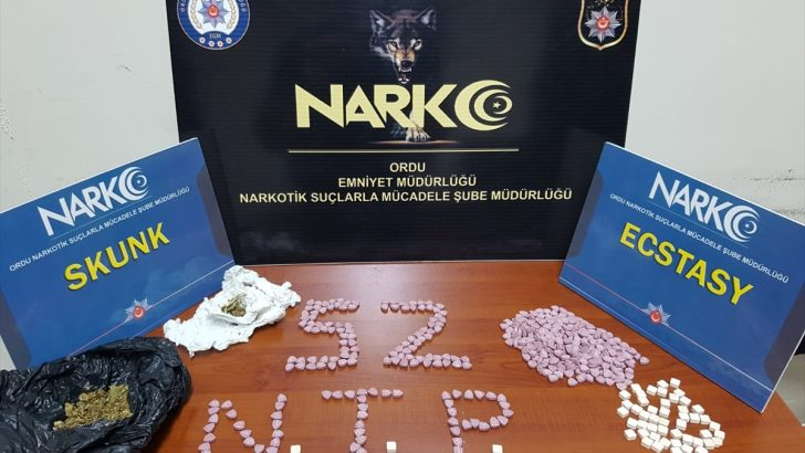 Ordu merkezli uyuşturucu operasyonunda 6 tutuklama