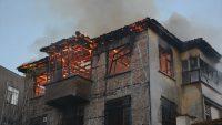 Ordu'da ev yangında maddi hasar oldu