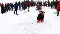 Ordu Argan Yaylası'nda kar festivali düzenlendi