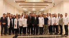 Rektör Akdoğan, bölgemizin önemli bir sağlık ihtiyacını karşılıyoruz