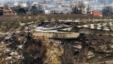Ordu'da heyelan nedeniyle 12 bina tahliye edildi