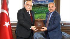 Milletvekili Nabi Avcı, başkan Güler'i ziyaret etti