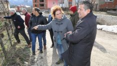 Ordu'da 12 binanın tahliye edildiği heyelan bölgesinde inceleme başlatıldı