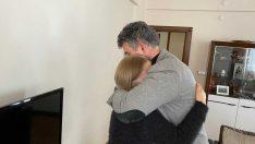 Türkiye Barolar Birliği Başkanı Feyzioğlu Ceren Özdemir'in ailesine ziyaret