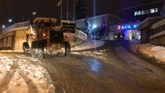 Ordu Büyükşehir Gece Gündüz Karla Mücadele Ediyor