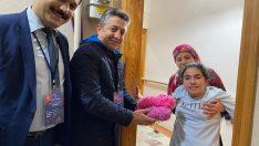 Ordu Valisi Yavuz, sosyal medyadan ulaşan engelli öğrencinin yün ip isteğini yerine getirdi