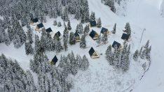 Ordu'da yaylaların cazibesi bungalovlarla artırılıyor