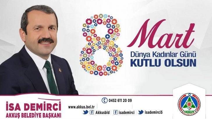 Başkan Demirci, Kadın Geleceğimizi Şekillendirir