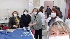 Ordu ve Giresun'da okullarda maske üretiliyor