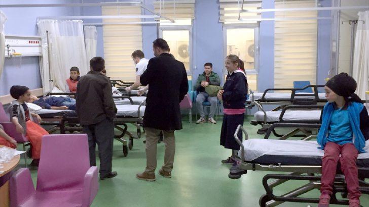Ordu'da 11 öğrenci gıda zehirlenmesi şüphesiyle hastaneye kaldırıldı