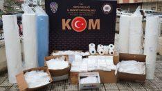 Ordu'da kaçak üretilen 13 bin maske ele geçirildi