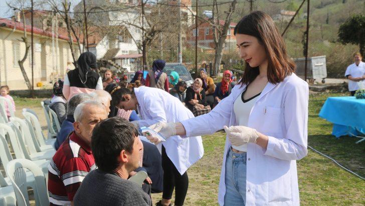 Ordu'da sağlık hizmeti vatandaşın ayağına götürülüyor