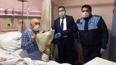 Ordulu Burhan amcanın tedavisi sürüyor