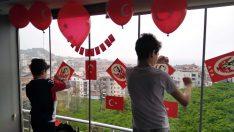 Ordulu iki kardeşin 23 Nisan İçin İstediği Türk bayrağını polis aldı