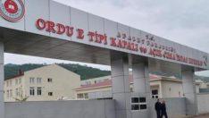 Ordu'da Cezaevlerinde koronavirüs tedbirleri Üst Seviyede