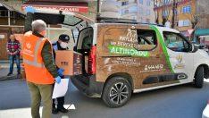Altınordu Belediyesi'nden İhtiyaç Sahibi Ailelere Gıda Yardımı