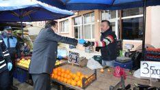 Altınordu Belediyesi Kononavirüs Tedbirlerini Sürdürüyor
