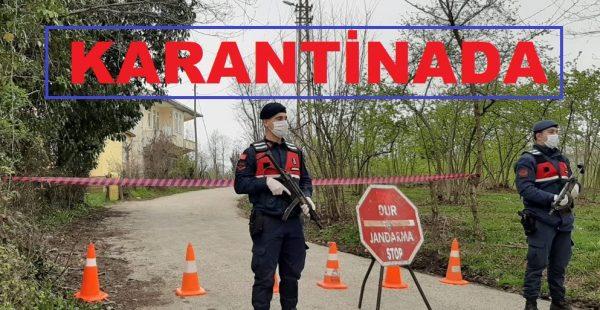 Ordu'da bir mahalle karantinaya alındı