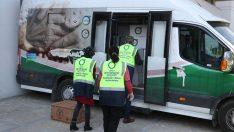 Ordu'da ihtiyaç sahibi kişilere gıda yardımında bulunuldu