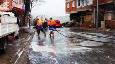 Ordu'da Kovid-19 dezenfeksiyon çalışmaları devam ediyor
